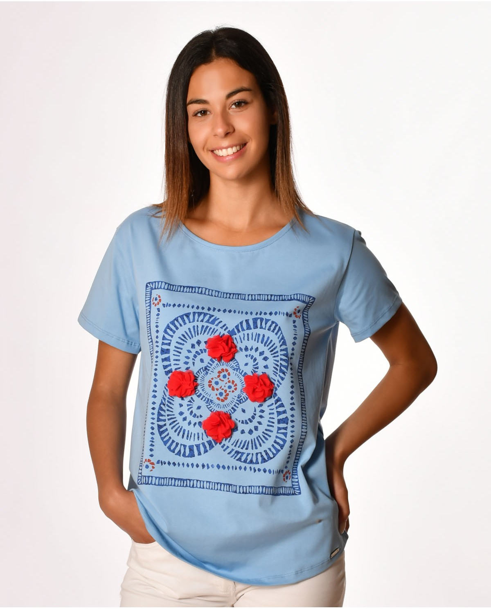 T-shirt azulejo