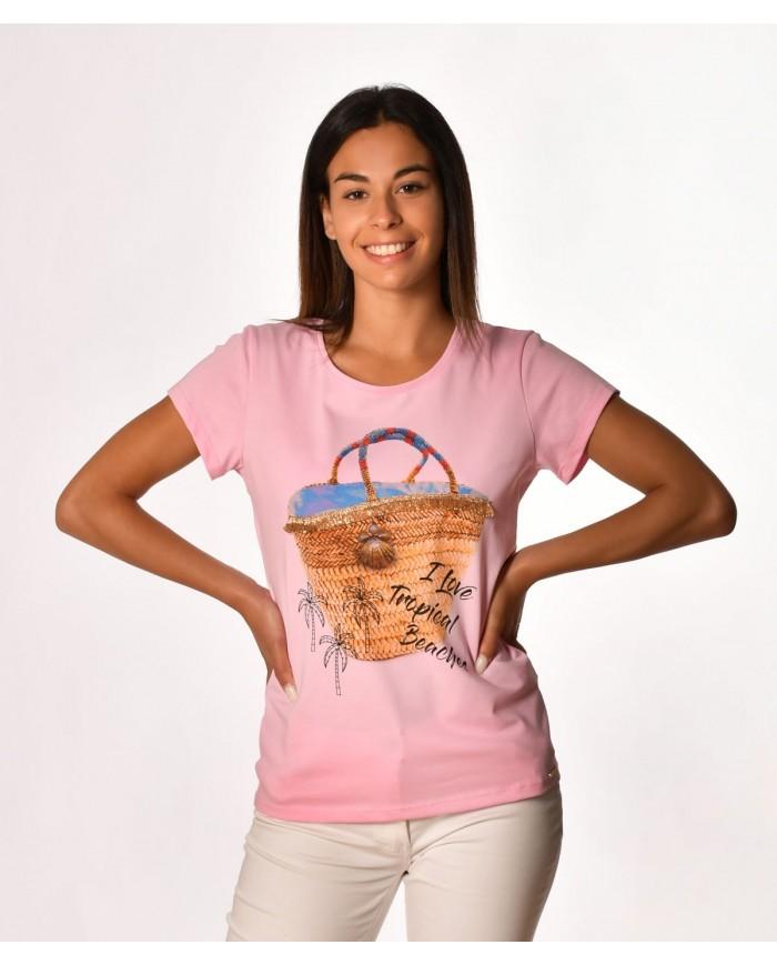 T-shirt saco de praia